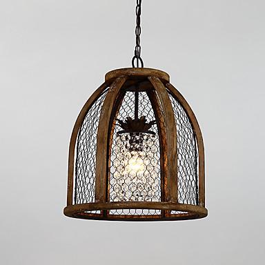 Luzes Pingente Luz Descendente - Estilo Mini, Rústico / Campestre Tradicional / Clássico Retro, 110-120V 220-240V Lâmpada Não Incluída