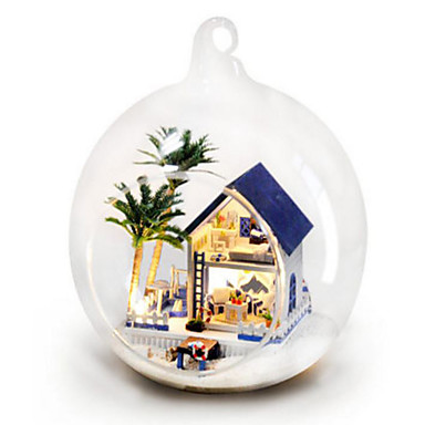 Balls Model Building Kit DIY House Plastics Glass Classic Pieces Unisex Gift