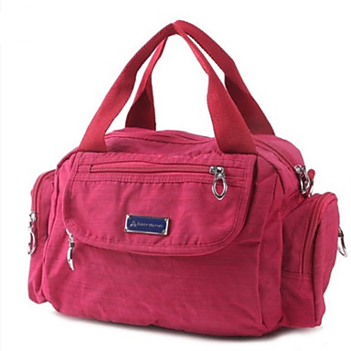 Women's Bags Oxford Cloth Travel Bag for Casual Outdoor All Seasons Blue Yellow Fuchsia