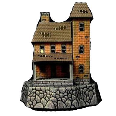 3D-puslespill Papirmodell Papirkunst Modellsett Hus GDS Hardt Kortpapir Klassisk Barne Gutt Unisex Gave