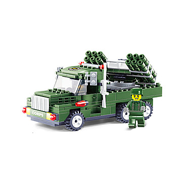 JIE STAR Carros de Brinquedo Blocos de Construir Quadrada Veiculo de Construção Para Meninos Unisexo Brinquedos Dom