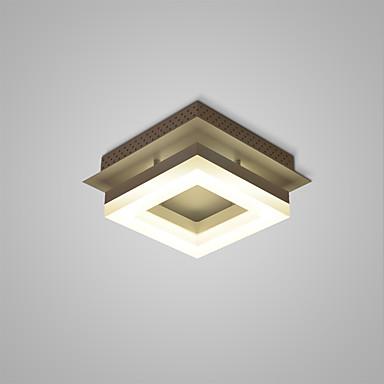 Takplafond Omgivelseslys - LED, 110-120V / 220-240V, Varm Hvit / Hvit, LED lyskilde inkludert / 5-10㎡ / Integrert LED