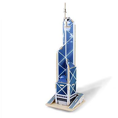 3D-puslespill Puslespill Tre Modell Leketøy Kjent bygning Arkitektur 3D GDS Tre Uspesifisert Deler