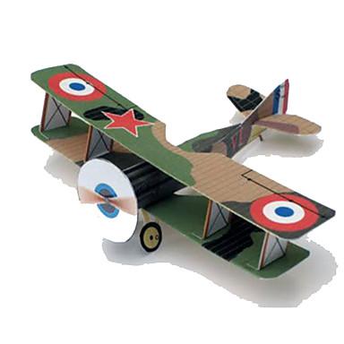 Quebra-Cabeças 3D Maquetes de Papel Planadores de Brinquedo Artesanato de Papel Brinquedos de Montar Aeronave Lutador Simulação Faça Você
