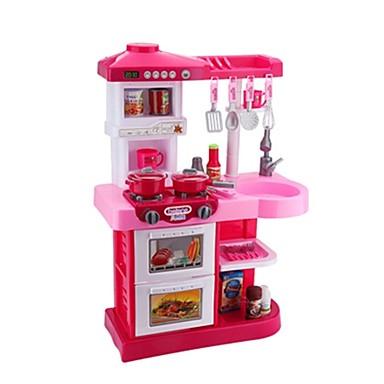 hesapli Oyuncaklar ve Oyunlar-Oyuncak Mutfak Takımları Oyuncak Yiyecekler Kids 'Pişirici Cihazlar Simülasyon Plastikler Çocuklar için Oyuncaklar Hediye