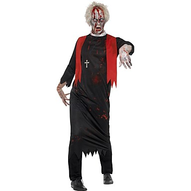 Skelett/Totenkopf Zombie Cosplay Cosplay Kostüme Haloween Figuren Mann Unisex Halloween Karneval Fest/Feiertage Halloween Kostüme Vintage