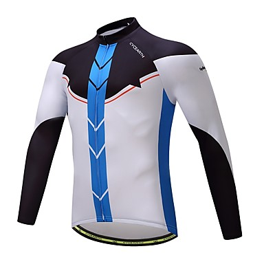 Fahrradtrikot Fahhrad Oberteile Vlies Fahrradbekleidung Warm Dehnbar Schweißtransportierend Radsport / Fahhrad