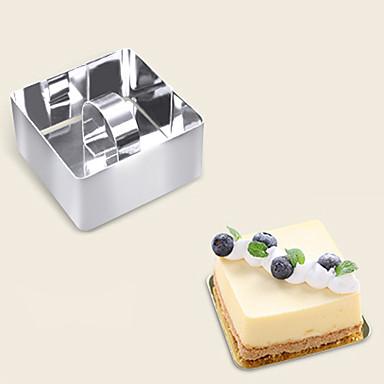 Kuchenformen Neuheit Für den täglichen Einsatz Edelstahl + A Stufe ABS