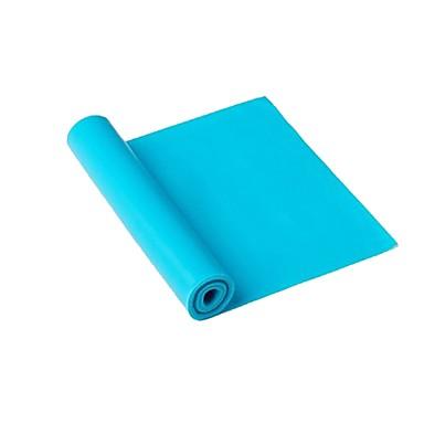 Trainingsbänder TPE Leben Multifunktion Krafttrainung Yoga Fitnessstudio Unisex Grün Blau Rosa