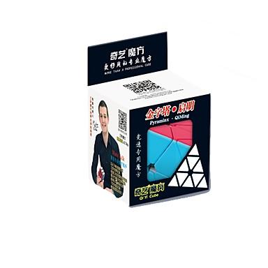 Rubik's Cube QI YI Warrior Pyramid Smooth Speed Cube Magic Cube Puzzle Cube Gift Unisex