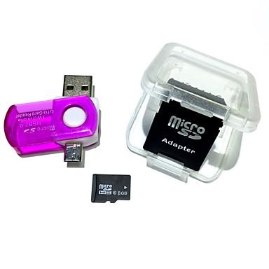 Ants 8 GB TF karty Micro SD karta Paměťová karta Class6 AntW3-8