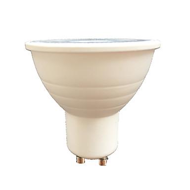 7W 580lm GU10 LED szpotlámpák 6 LED gyöngyök SMD 3030 Meleg fehér / Fehér 220V