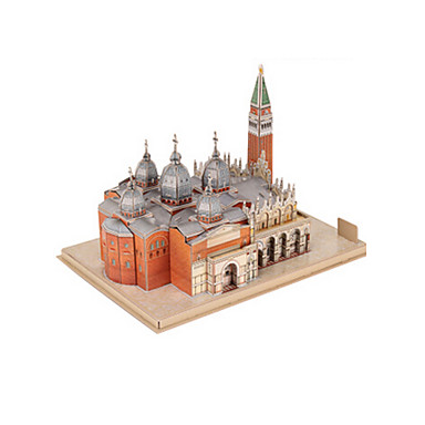 3D - Puzzle Modellbausätze Berühmte Gebäude EPS+EPU Unisex Geschenk