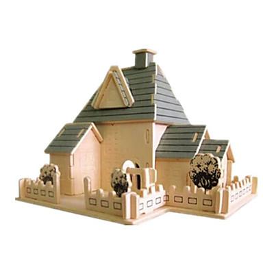 3D - Puzzle Holzpuzzle Holzmodell Spielzeuge Berühmte Gebäude Haus Architektur 3D Holz Naturholz Unisex Jungen Stücke