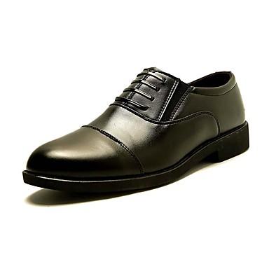 Herren Schuhe Künstliche Mikrofaser Polyurethan Herbst Winter Komfort Leuchtende Sohlen formale Schuhe Outdoor Für Hochzeit Normal Party
