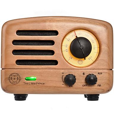 billige Radio-MAO KING MW-2 FM Bærbar radio FM Radio / Innebygd Ut-høytaler Verdens mottaker Lysebrun