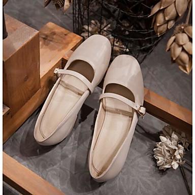 Damen Schuhe PU Sommer Komfort High Heels Für Normal Mandelfarben