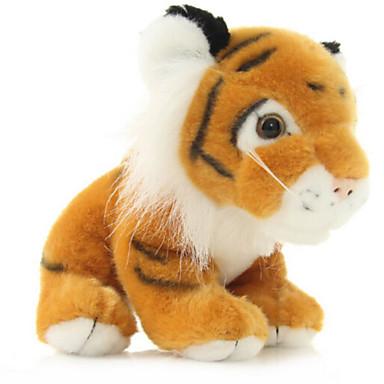 Tigris Punjene i plišane igračke Kézzel készített élethű Állatok tettetés 100% pamut Lány Ajándék