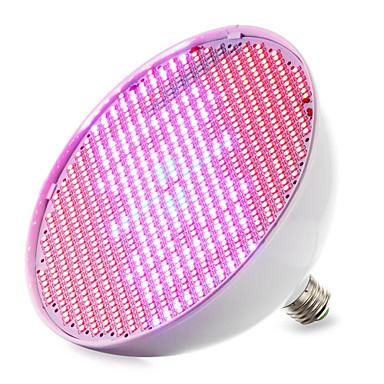 1pc 30 W 14400-16000M E26 / E27 Voksende lyspære 800 LED perler SMD 2835 Rød / Blå 85-265 V / 1 stk. / RoHs / FCC