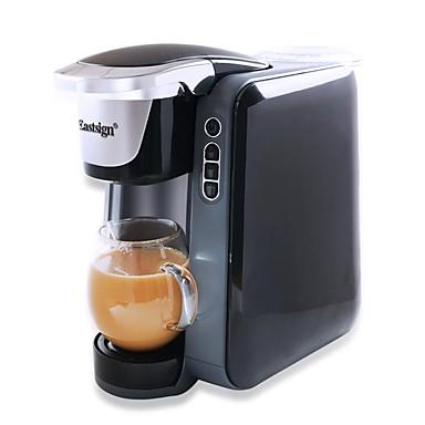 Eastsign es50k multifunktionale kapsel kaffeemaschine amerikanische kaffeemaschine home office für k-cup kapsel schwarz