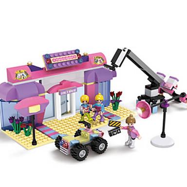 Építőkockák Ház Fun & Whimsical Lány Ajándék