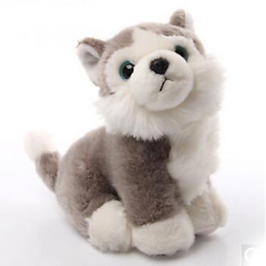 Kutyák Punjene i plišane igračke Kézzel készített élethű tettetés Plüss anyag Ajándék