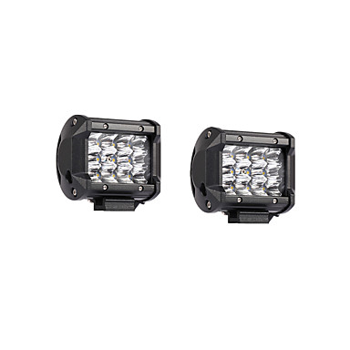2pcs Car Light Bulbs 36W SMD 3030 7200lm LED Working Light