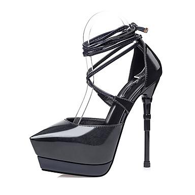 Vert Verni Bride Bout de 06163122 pointu bleu Habillé Talon Eté Femme Cuir Cheville Noir Amande Lacet Chaussures Sandales Aiguille 4qwOHO