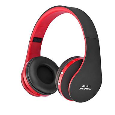NX8252 Fejpánt Vezeték nélküli Fejhallgatók hibrid Műanyag Mobiltelefon Fülhallgató Összecsukható / A hangerőszabályzóval / Zajszűrő