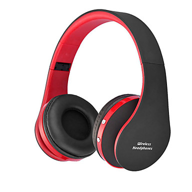 NX8252 Headband Wireless Headphones Hybrid Plastic Mobile Phone Earphone Foldable / with Volume Control / Noise-isolating Headset