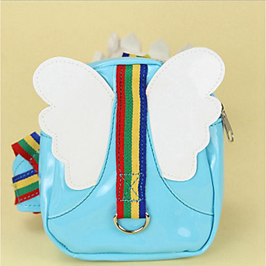 Dog Backpack Dog Clothes Angel & Devil PU Leather Costume For Pets Men's / Women's Casual / Daily