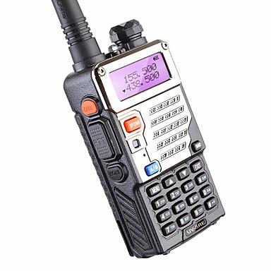 BAOFENG BUV-5RE Walkie Talkie Hordozható Alacsony Akkufeszültség Figyelmeztetés Programozható PC szoftver  Hangvezérlés HANG Titkosítás