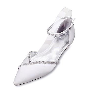 06390597 Deux Bleu pointu Chaussures mariage Mary Pièces D'Orsay Strass Chaussures amp; Confort Satin Femme Eté Bout Jane de Printemps zUq4g