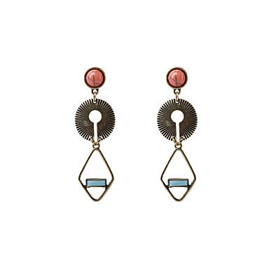 Women's Long Drop Earrings - Personalized, Vintage, Bohemian Blue For Wedding / Party / Graduation