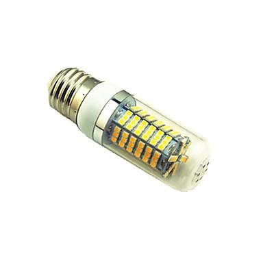 5 W 700 lm E27 LED kukorica izzók T 144 LED gyöngyök SMD 2835 Meleg fehér / Fehér 220 V / 1 db.
