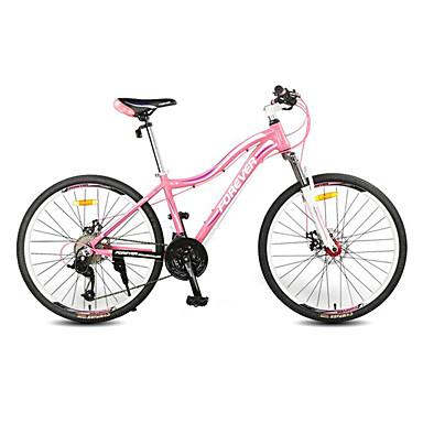 산악 자전거 싸이클링 27 속도 26인치 / 700CC 마이크로 소프트 더블 디스크 브레이크 서스펜션 포크 슬립방지 알루미늄 합금
