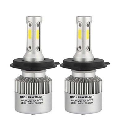 رخيصةأون أضواء السيارات-H10 / H9 / H7 سيارة لمبات الضوء 80 W COB 8000 lm Headlamps مصباح الرأس من أجل