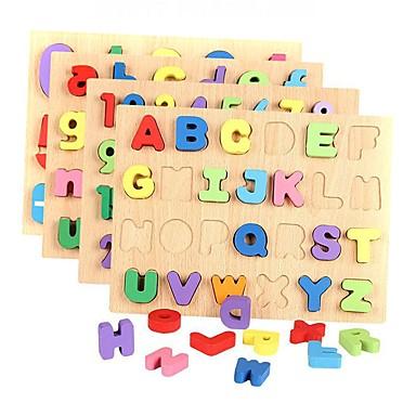 voordelige Rekenspeelgoed-Bouwblokken Legpuzzel Rekenspeelgoed Nummer Letter Puinen Kinderen Jongens Meisjes Speeltjes Geschenk
