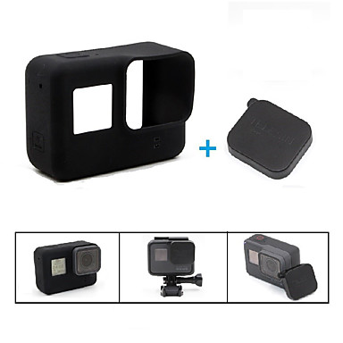 Case Lidded Scratch Resistant Wear-Resistant Stretchy For Action Camera Gopro 5 Casual Everyday Use Outdoor Back Country Traveling