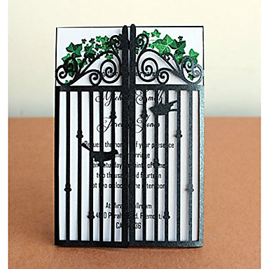 Gate-Fold Wedding Invitations 50 - Invitation Cards Invitation Sample Mother's Day Cards Baby Shower Cards Bridal Shower Cards Engagement