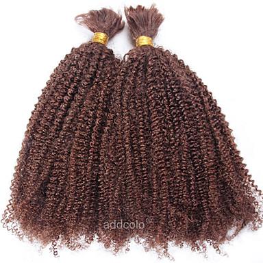 Brasiliano Riccio Kinky Curly Cappelli Veri Bundle Di Capelli Tessiture Capelli Umani Estensioni Dei Capelli Umani #06124308 Colori Fantasiosi