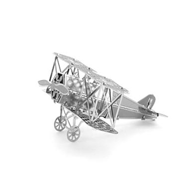 Holzpuzzle Metallpuzzle Panzer Flugzeug Kämpfer 3D Einrichtungsartikel Heimwerken Edelstahl Metal Kinder Erwachsene Mädchen Jungen Unisex