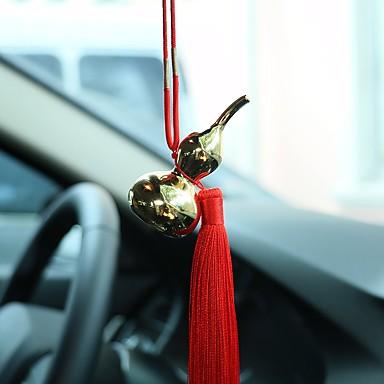 Diy Automobil Anhänger Auto Anhänger Gold Kürbis Ornamente Innenschmuck Ornamente chinesischen Quasten Luxus Modelle Auto
