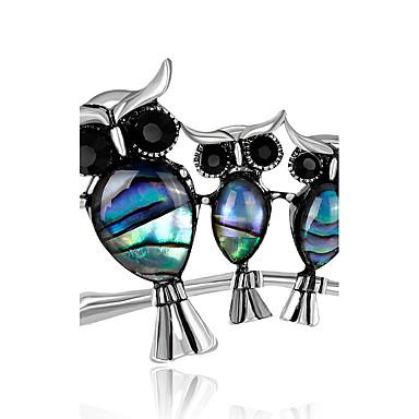 Damen Broschen Strass Personalisiert Luxus Klassisch Retro Grundlegend Modisch Simple Style Elegant Krystall Diamantimitate Aleación