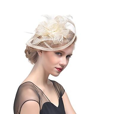 Flachs Fascinators Kopfbedeckung Hochzeitsgesellschaft elegant femininen Stil