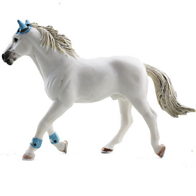 Importato Dall'Estero Statuette E Modellini Di Animali Cavallo Animali Simulazione Gomma In Silicone Teen Giocattoli Regalo #06142927