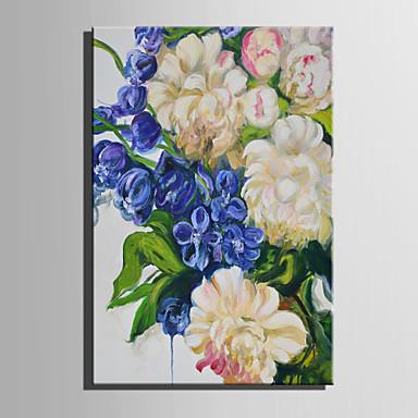 Handgemalte Blumenmuster/Botanisch Vertikal, Abstrakt Segeltuch Hang-Ölgemälde Haus Dekoration Ein Panel