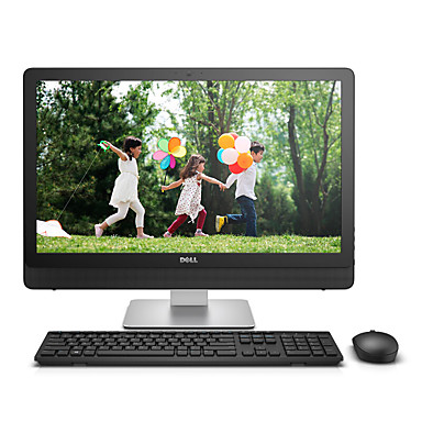 DELL All-In-One Desktop-Computer 23,8 Zoll Intel i3 4GB RAM 1TB HDD Integrierte Graphiken