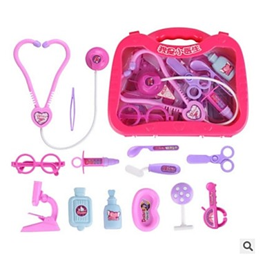 Medical Kit Pretend Play Pretend Professions & Role Playing Relaxed Fit Odor Free Kits Doctor Plastics Kid's Unisex Boys' Girls' Toy Gift 1 pcs