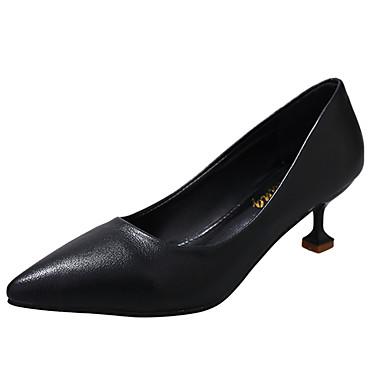 Damen High Heels Komfort PU Sommer Kleid Kombination Niedriger Absatz Schwarz Beige Rot 2,5 - 4,5 cm